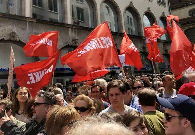 40 000 Menschen gegen das PAG – Sozialer Freistaat statt Polizeistaat!