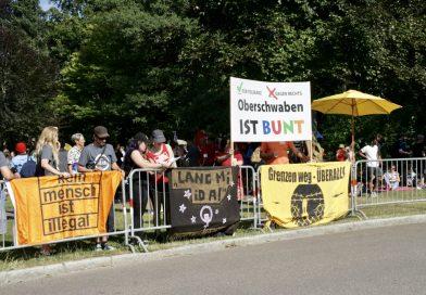Klare Kante gegen Rechts – 700 Menschen gegen AfD in Weingarten