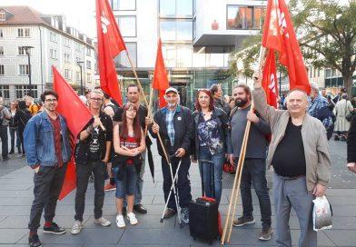 """Eindrücke von Demo """"Wir sind mehr"""" in Ulm"""
