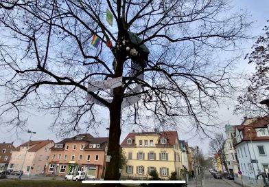 Solidarität mit den Baumbesetzer*innen in Ravensburg
